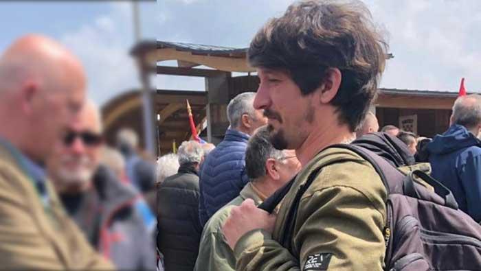 Njemački novinar Danijel Majić provocirao i vrijeđao sudionike komemoracije