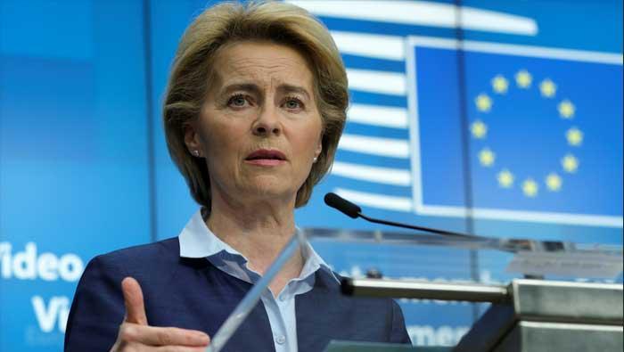 Predsjednica EK predstavlja plan gospodarskog oporavka