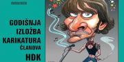 U galeriji 'Zvonimir' izložba karikatura članova HDK-a | Domoljubni portal CM | Kultura