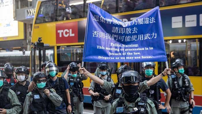 UN zabrinut zbog 'nejasnog' zakona o Hong Kongu