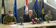 U MORH-u održana konferencija za medije povodom smrti hrvatskih vojnika