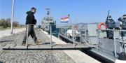 Predsjednik Milanović s pripadnicima Obalne straže na plovidbi ophodnog broda