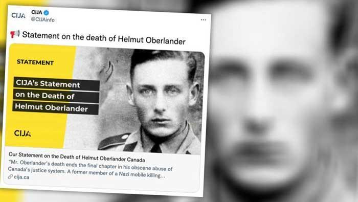 U 97. godini umro posljednji nacistički ratni zločinac u Kanadi