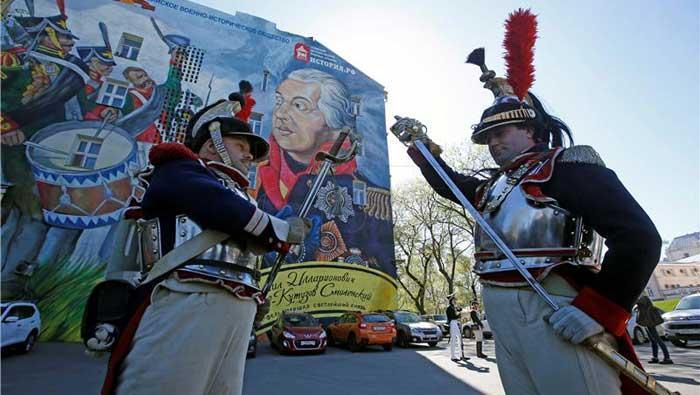 Rusija i Francuska pokapaju žrtve 200 godina nakon Napoleonova poraza