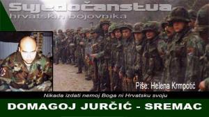 DOMAGOJ JURČIĆ - SREMAC | Crne Mambe | Svjedočanstva hrvatskih bojovnika