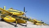 Dva Airtractora angažirana na požarištu kod Primorskog Dolca