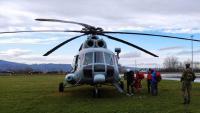 Hitni zračni medicinski prijevoz HRZ-a tijekom uskrsnih blagdana   Domoljubni portal CM   Press