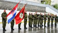 KNIN: Svečano obilježena 14. obljetnica Gardijske mehanizirane brigade