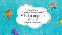 Objavljene 'Misli o odgoju i dobroti' časne sestre Valentine | Domoljubni portal CM | Kultura