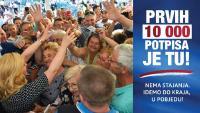 Aktualna predsjednica prikupila 10.000 potpisa u rekordnom roku | Domoljubni portal CM | Press