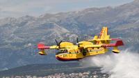 Zračne snage i danas aktivne u gašenju požara