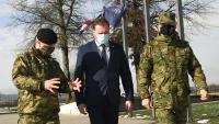Ministar obrane Banožić s pripadnicima HV-a u Lekeniku | Domoljubni portal CM | Press