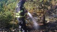 Saniranje požarišta na području Muća